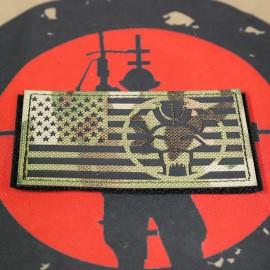 SCG Seal Team / DEVGRU Laser cut Patch (MC)