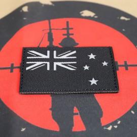 "SCG Laser cut Patch ""New Zealand Flag-BK"""