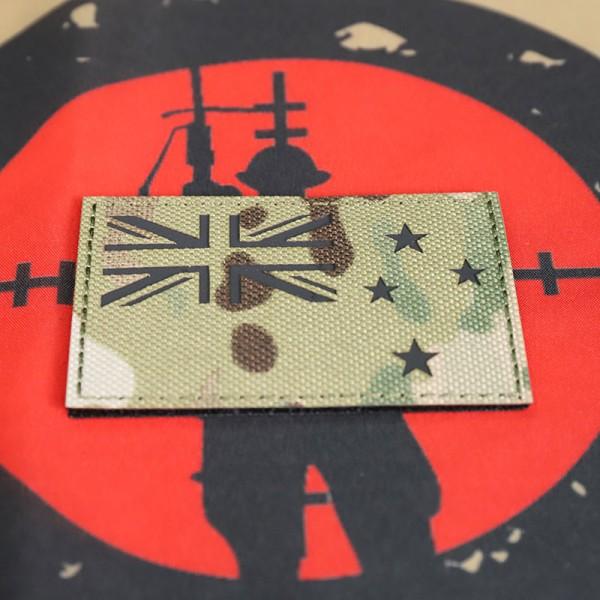 "SCG Flag Laser cut Patch "" New Zealand Flag-MC"")"