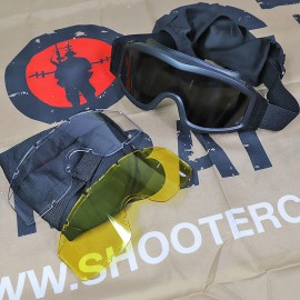 SCG Tactical Goggles Set