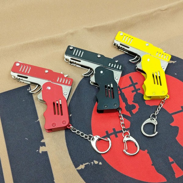 SCG Mini Metal Folding Rubber Band Gun