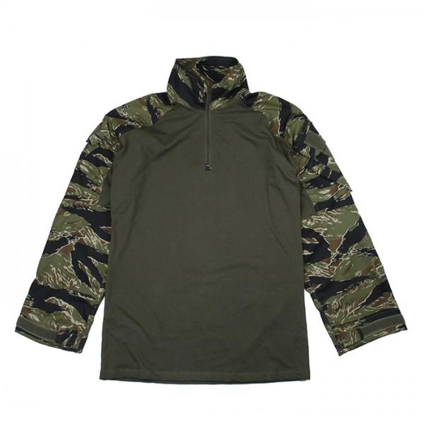 TMC ORG Cutting G3 Combat Shirt ( Green Tigerstripe )