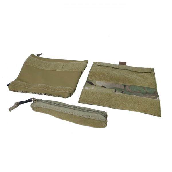TMC Accessories set for SS Chest Rig ( Multicam )