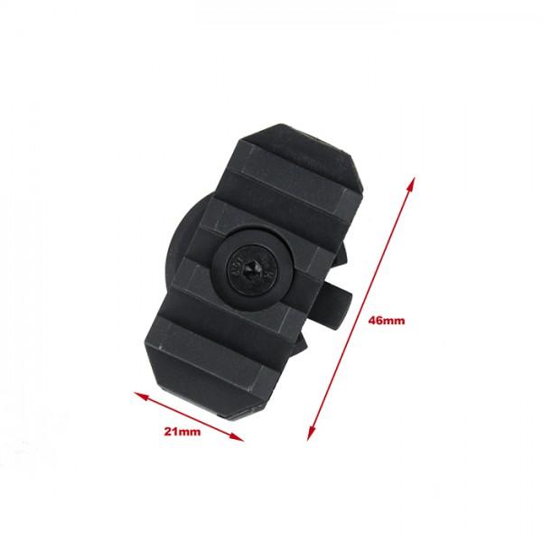 TMC Turnable ACR Rail Adapter ( Black )