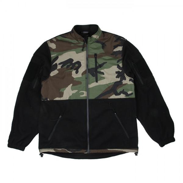 TMC 7D65 Fleece Jacket ( Woodland )