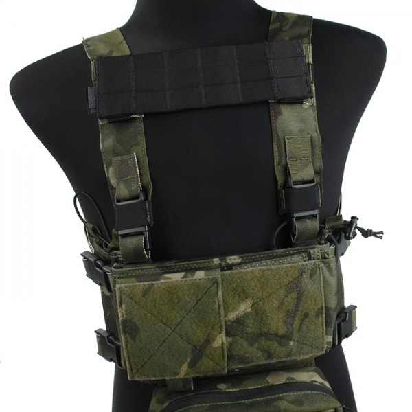 TMC MOLLE Panel for SS Chest Rig ( BK )
