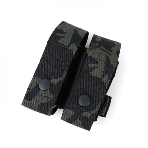 TMC SS76 Dou Grenade Pouch ( Multicam Black)