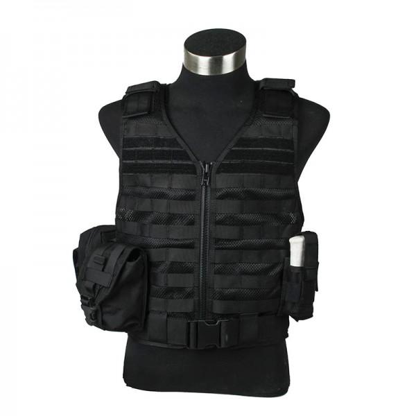 TMC VTAC Style Mesh tactical Vest Set ( BK )