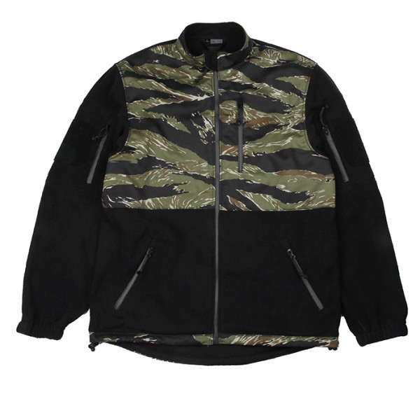TMC 7D65 Fleece Jacket ( Green Tigerstripe )