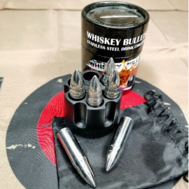 SCG Whiskey bullets stainless steel chillers