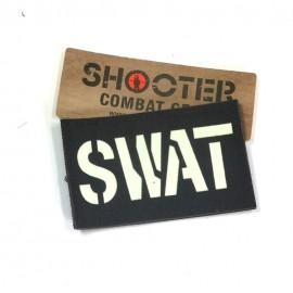 """SCG Hook & Loop Fasteners Patches glow in the dark """" SWAT"""""""