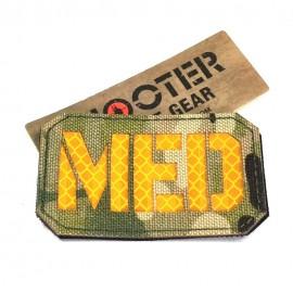 SCG Laser cut Patch MED - MC
