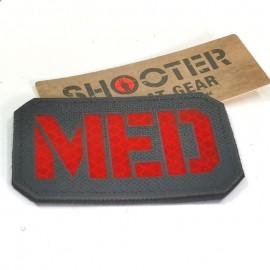 SCG Laser cut Patch MED - BK