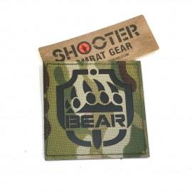 SCG Laser cut Patch BEAR - MC