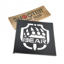 SCG Laser cut Patch BEAR - BK