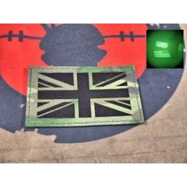 """SCG Hook & Loop Fasteners 3M IR Patches """"  UK Flag -MC"""""""
