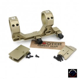 AIRSOFT ARTISAN BO Style 30mm Modular Mount for Milspec 1913 Rail System With RMR Adapter (DDC)