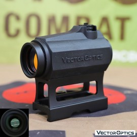 Vector Optics Maverick 1x22 GenII Red Dot Sight w/ Rubber Cover (FREE SHIPPING)