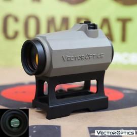 Vector Optics Maverick 1x22 GenII Red Dot Sight w/ DE Rubber Cover (FREE SHIPPING)