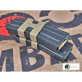 WE M4/M16 GBB Open Bolt 80rds Double Magazine