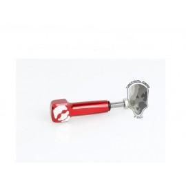 TMC Thumb Knob Skull Mark Long Screw for GoPro Cam ( Red)