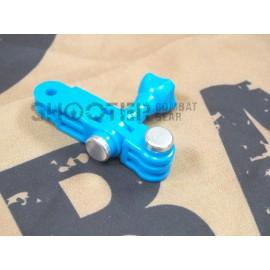 TMC 3 Way Pivot Arm and Screw Bolt (BLUE)