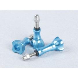 TMC CNC Thumb Knob Stainless Bolt Nut Set Model S (Blue)