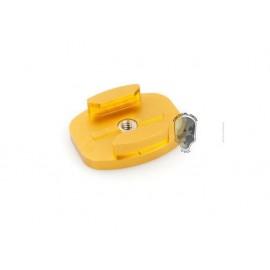 TMC Alum Flat Surface Mount w/ Tripod cam adapter ( Gold )