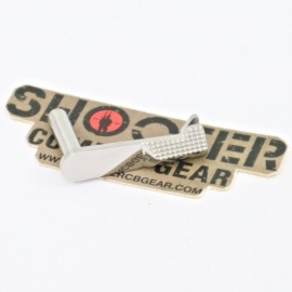 5KU stainless steel slide stop For HI-CAPA (TYPE2 -Silver)