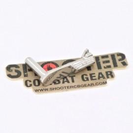 5KU stainless steel slide stop For HI-CAPA (TYPE3 -Silver)